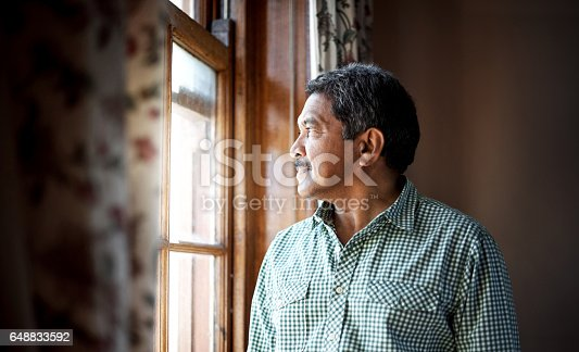 istock Make peace with the past 648833592
