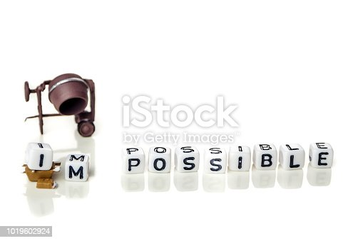 istock make possible concept in order to achieve set goals 1019602924