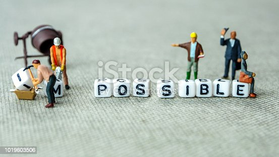 istock make possible concept in order to achieve set goals 1019603506