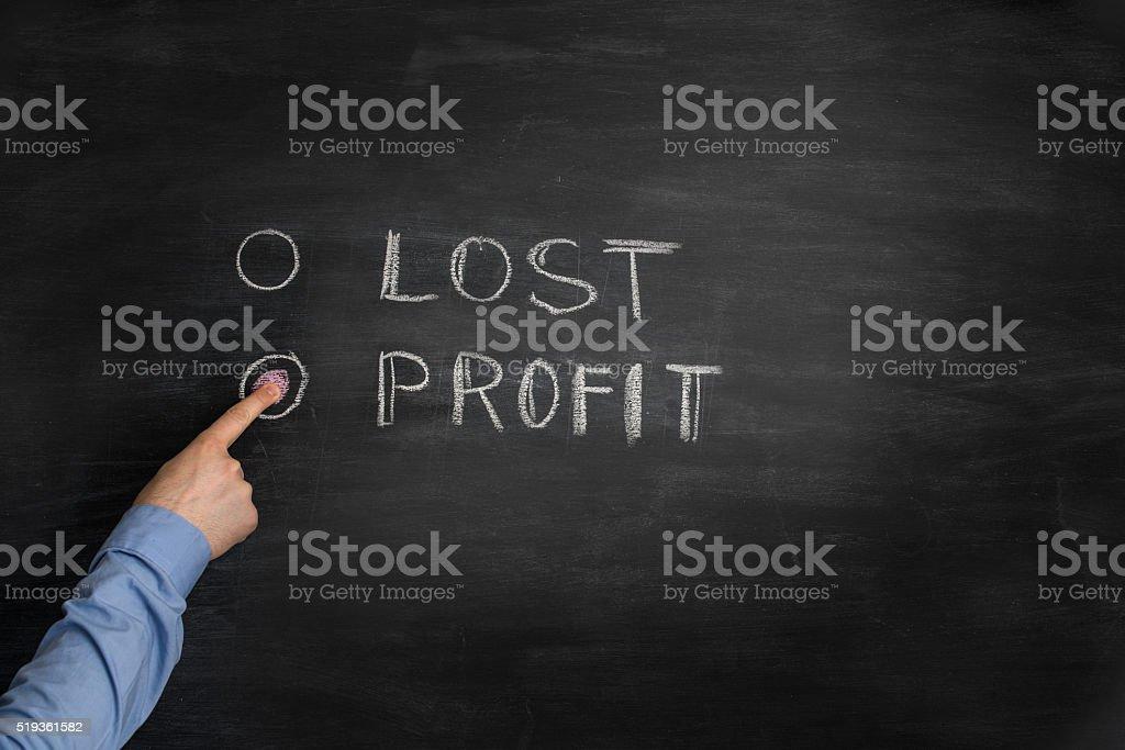 Make profit stock photo