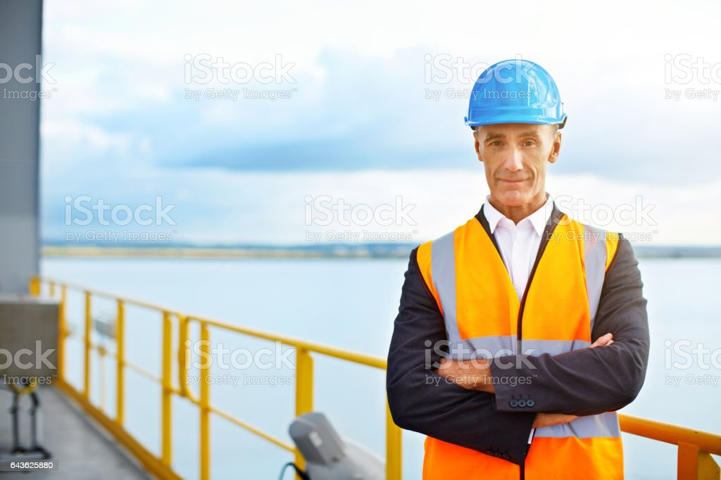 I make sure shipments go out on time stock photo