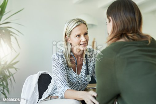 istock Make sure you have a trusting relationship with your doctor 689956326