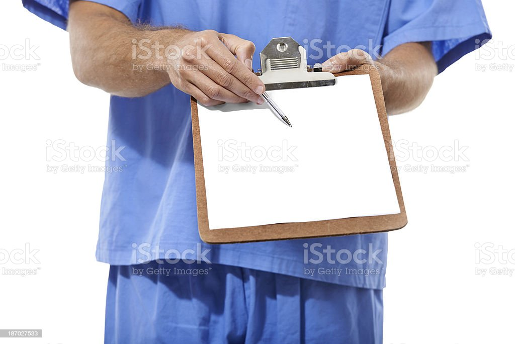 Make sure you have medical insurance royalty-free stock photo