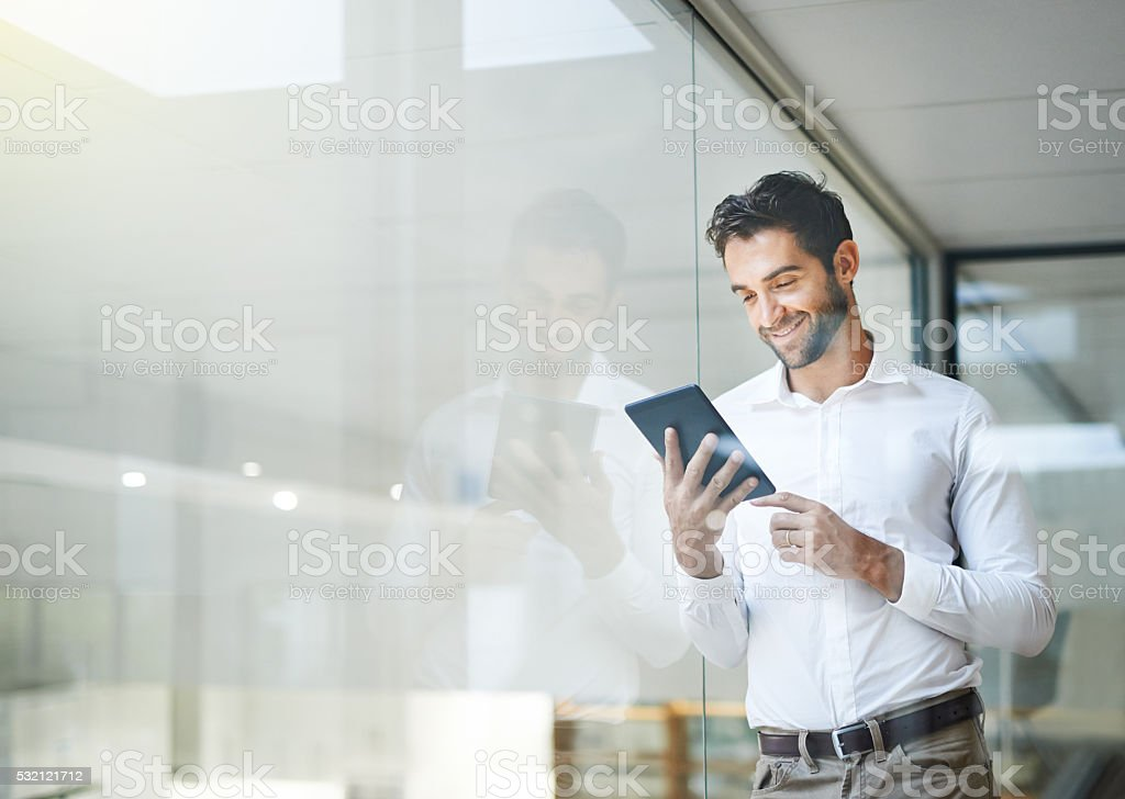 Make sure your business is portable royalty-free stock photo