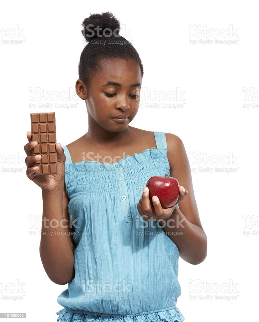 Make the healthy choice! royalty-free stock photo