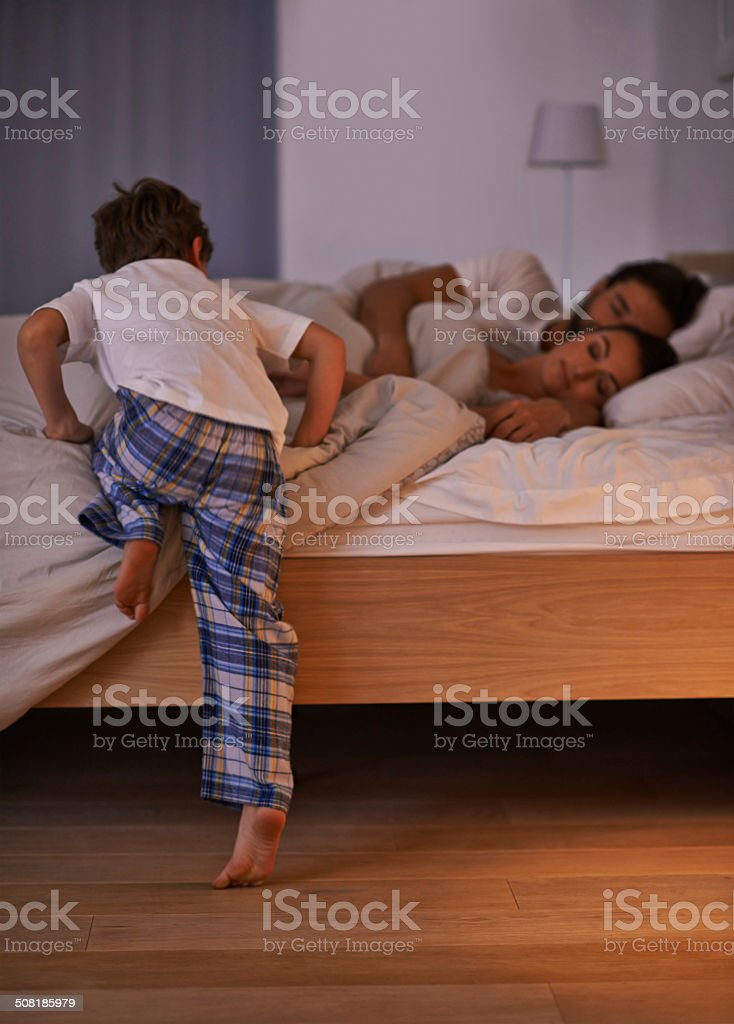 Make the nightmare go away stock photo