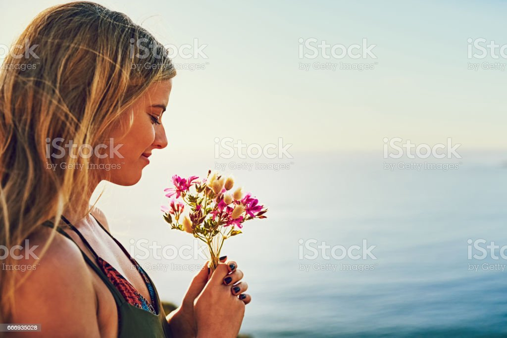 Make time for the little things stock photo
