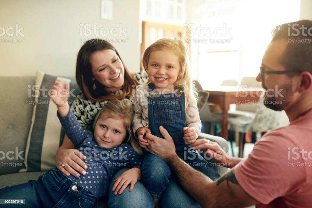 Make time for the most important people in life royalty-free stock photo