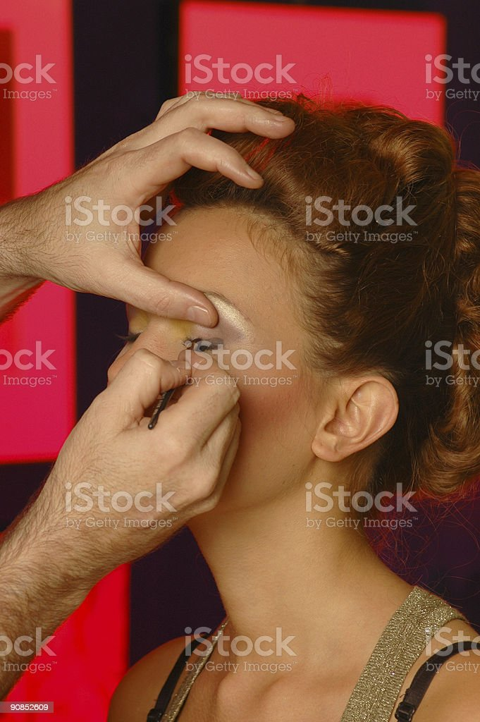 Make up and beauty stock photo