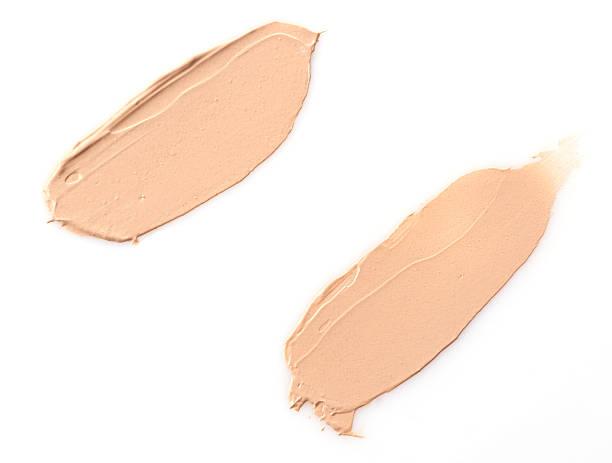 Make-up base Farbe auf den Hintergrund – Foto