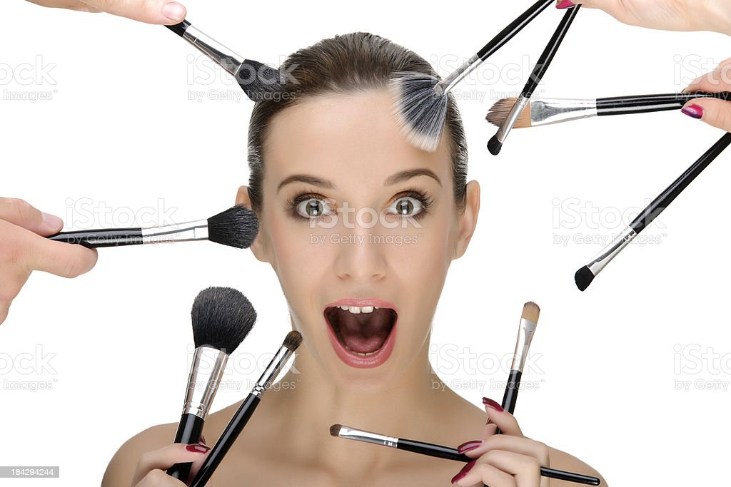 make up concept stock photo