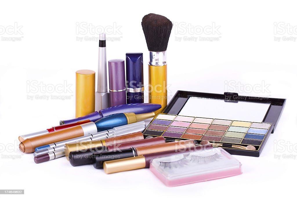 Make up cosmetics royalty-free stock photo