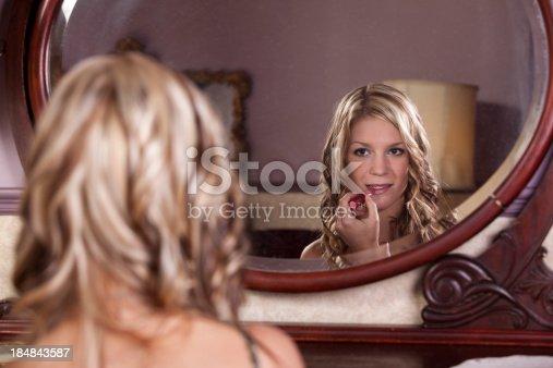 109721176istockphoto Make up her lips 184843587