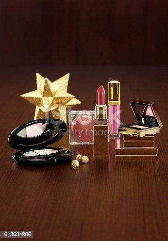 455111881istockphoto Make Up Kit for christmas present 618634906
