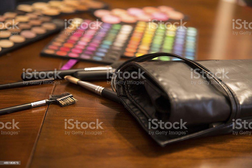 make up materials stock photo