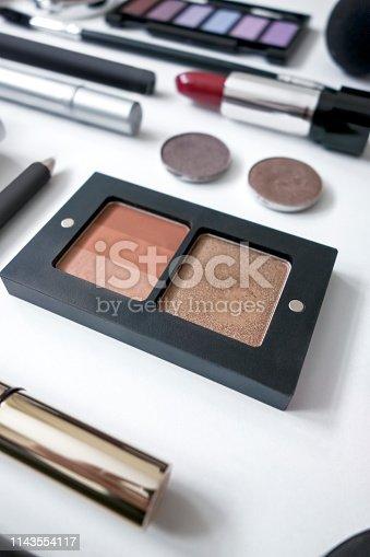 Still life of Make up kit