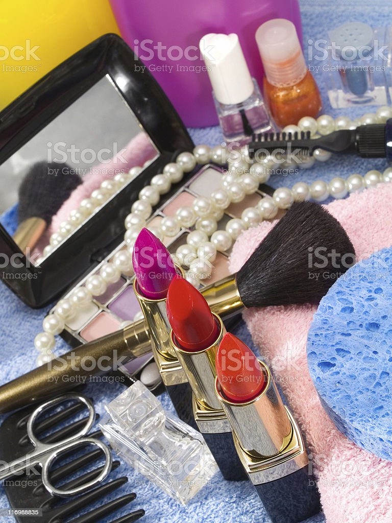 Make up royalty-free stock photo