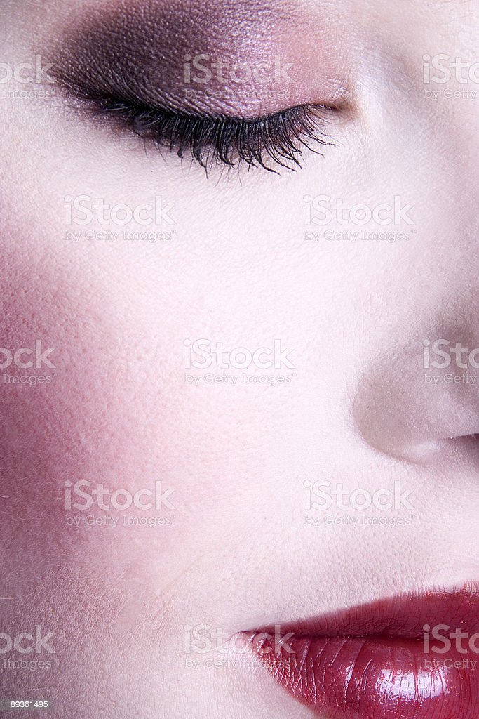 Make up foto stock royalty-free