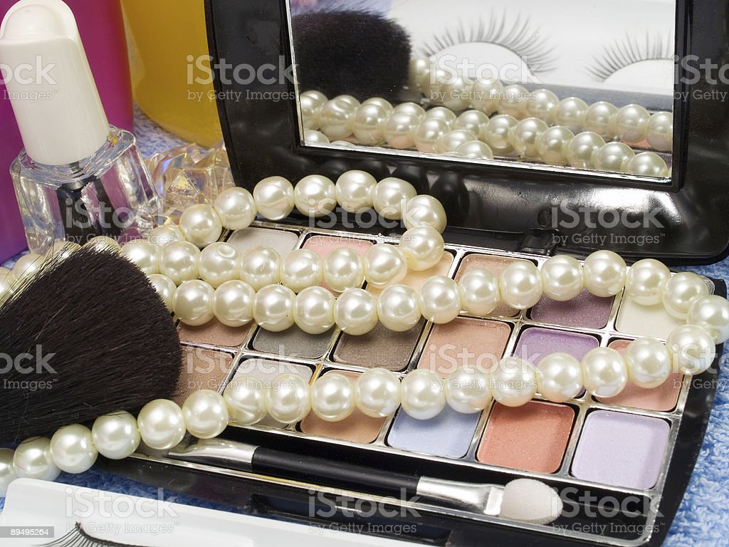 Make up royaltyfri bildbanksbilder