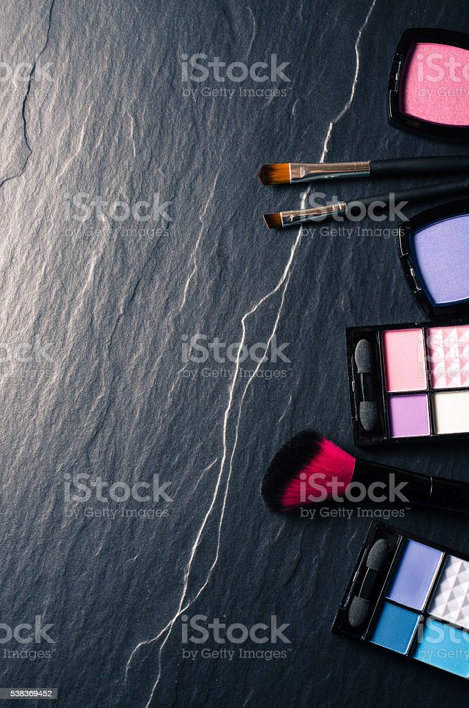 Make up products stock photo