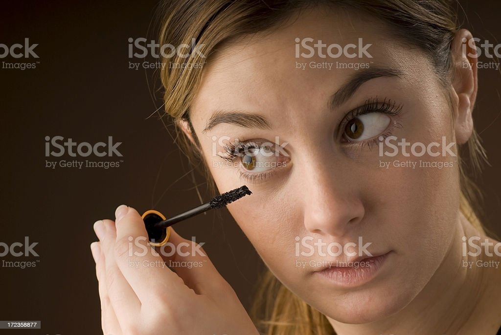 Make up time royalty-free stock photo