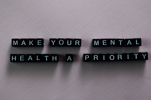 istock Make your mental health a priority on wooden blocks. Motivation and inspiration concept 1146973284