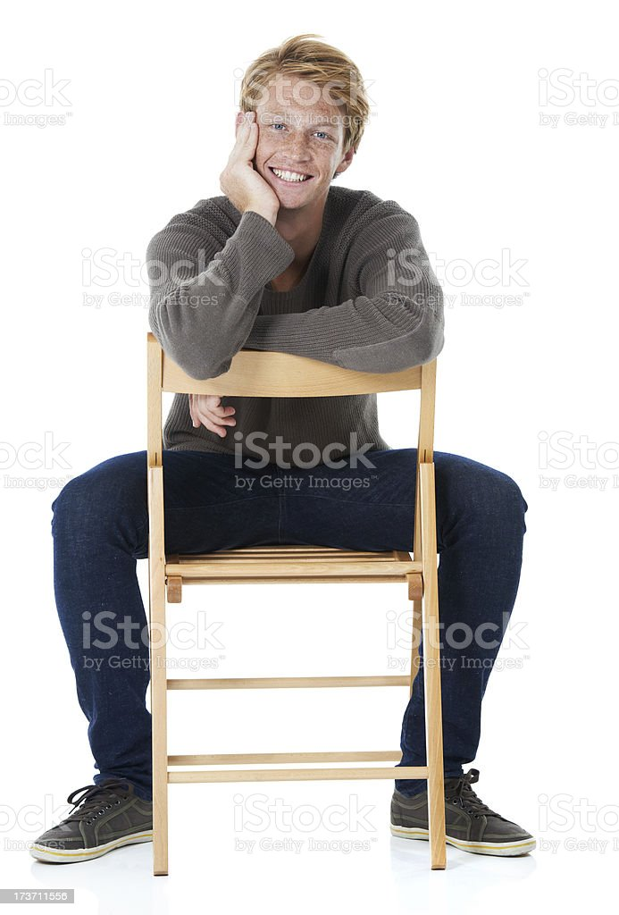 Make yourself comforable! stock photo