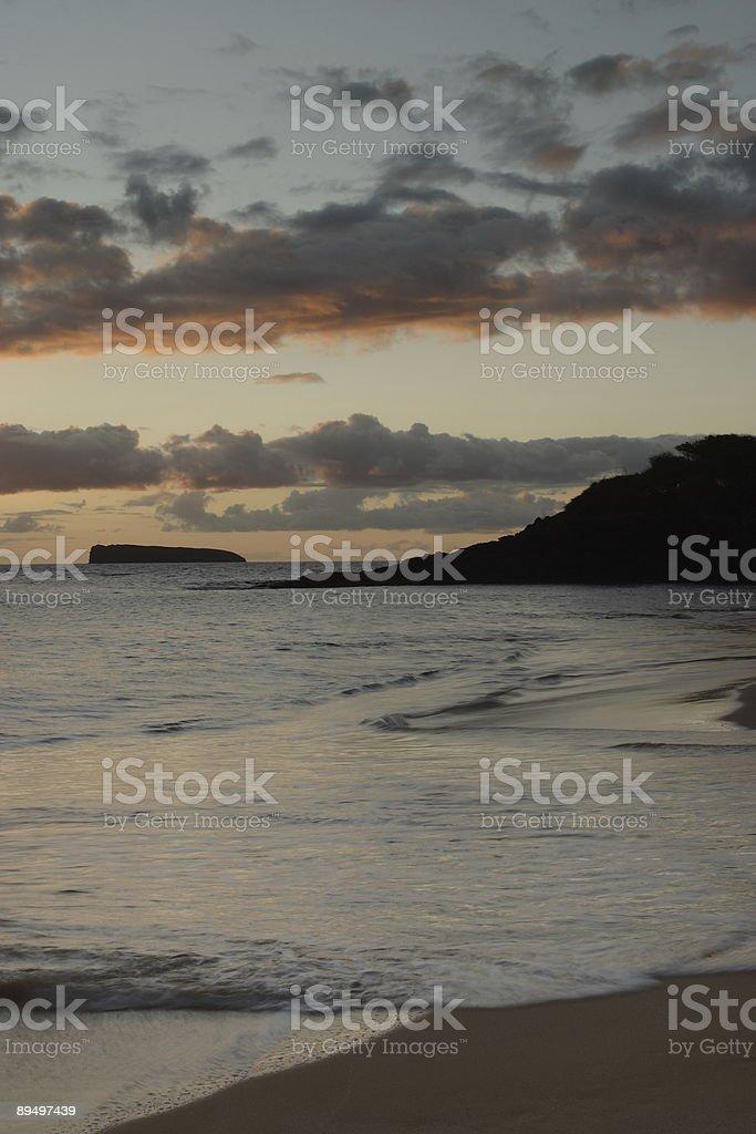 Makena słońca zbiór zdjęć royalty-free
