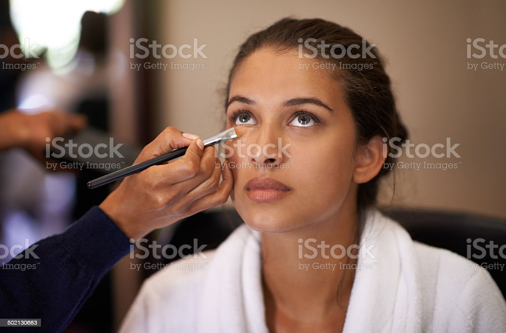 Makeover time! stock photo