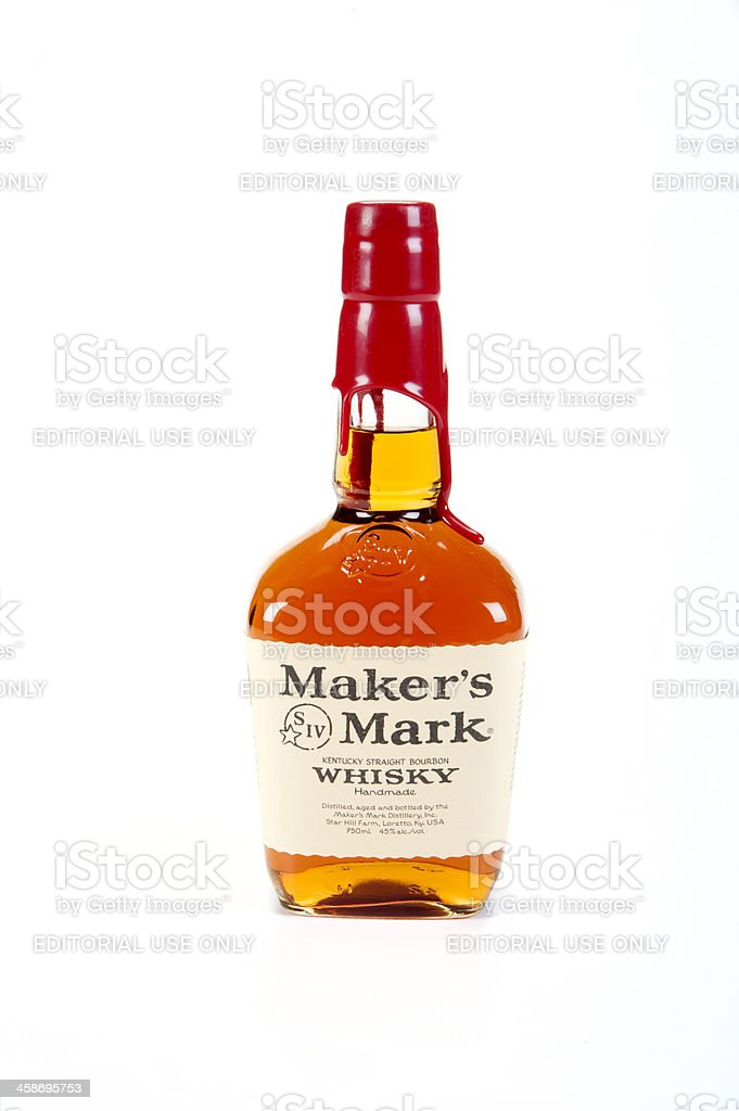 Maker's Mark stock photo