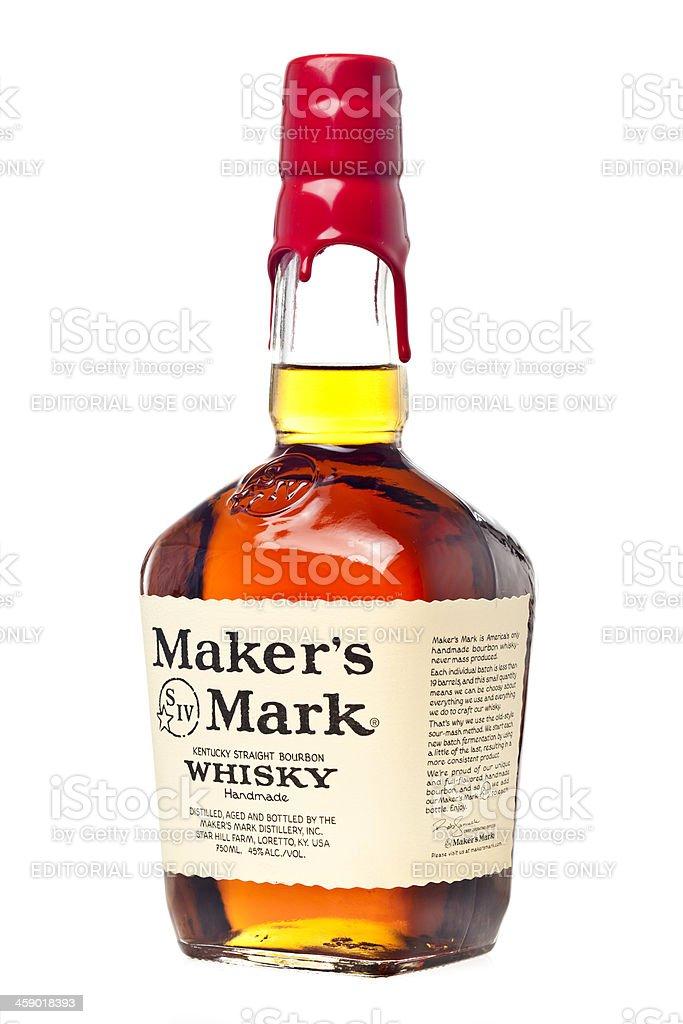 Maker's Mark Whisky stock photo