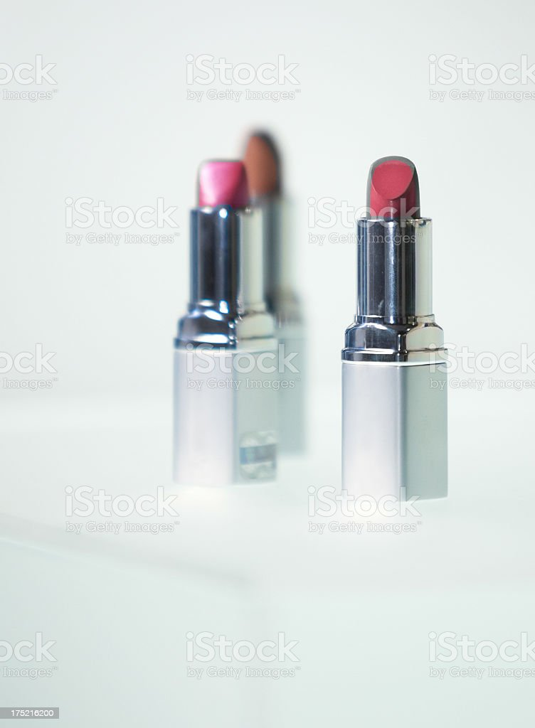 Make-up accessories royalty-free stock photo