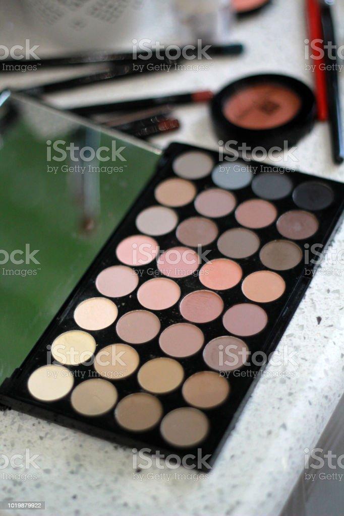 makeup and cosmetics for woman - fotografia de stock