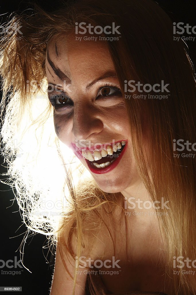 Makeup and Madness royalty-free stock photo