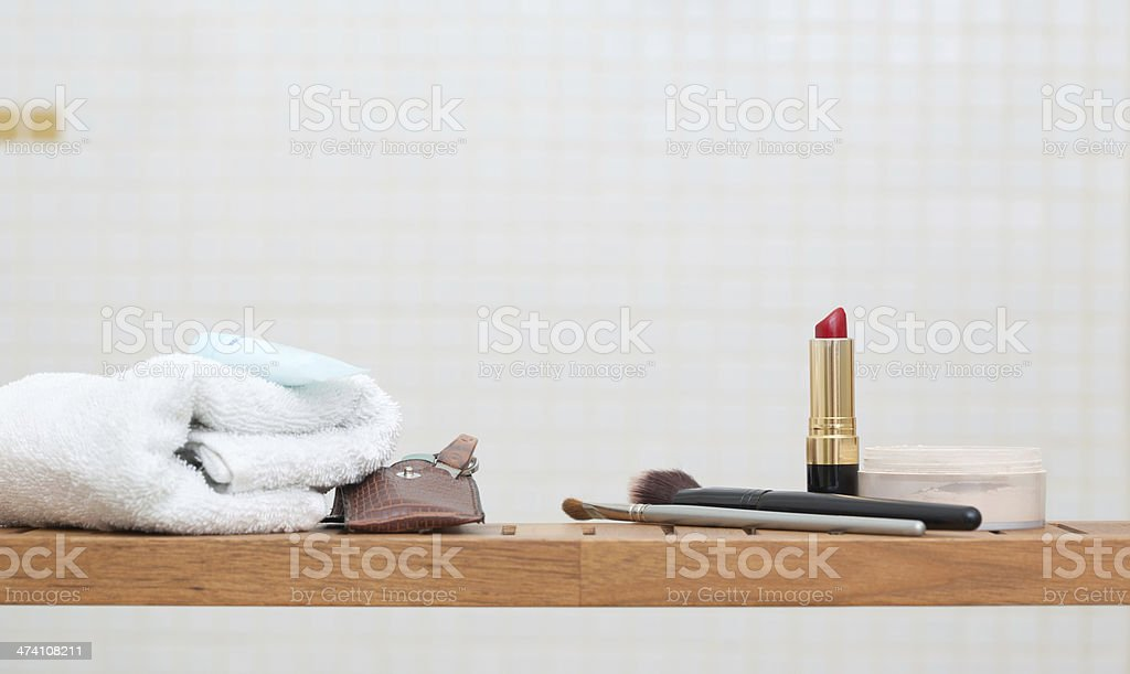 Make-up and Spa Objects stock photo