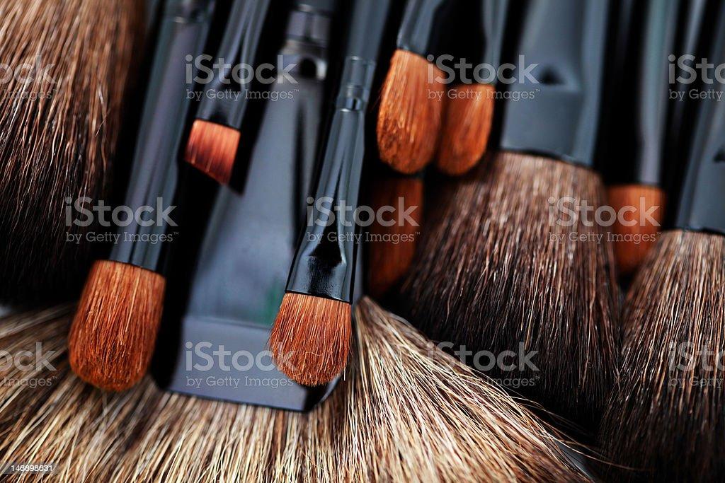 make-up applicators royalty-free stock photo