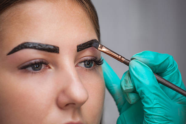 Henna Tattoo For Eyebrows: Best Henna Stock Photos, Pictures & Royalty-Free Images