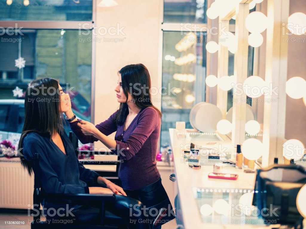 Makeup Artist At Work Stock Photo Download Image Now Istock