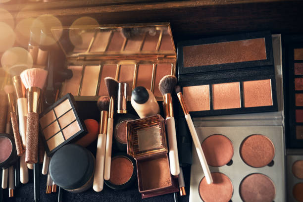 A makeup artist's dream stock photo