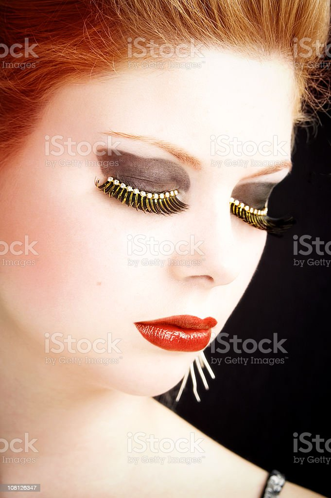 Make-Up As Art royalty-free stock photo