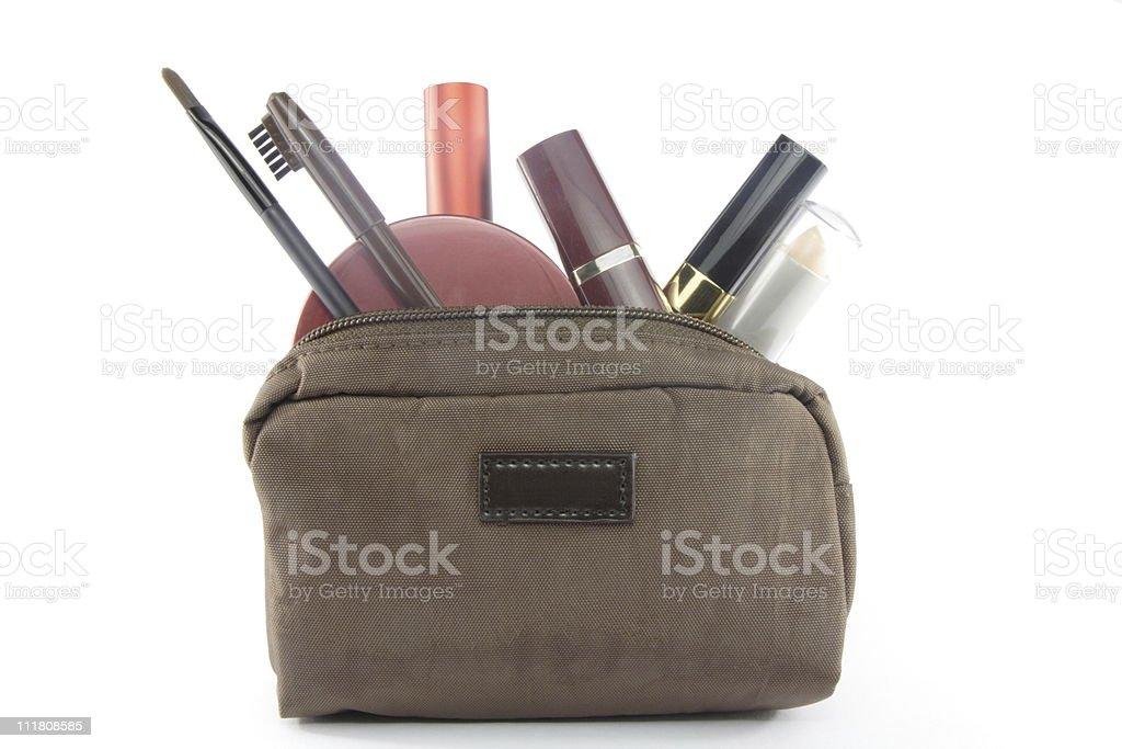 make-up bag stock photo