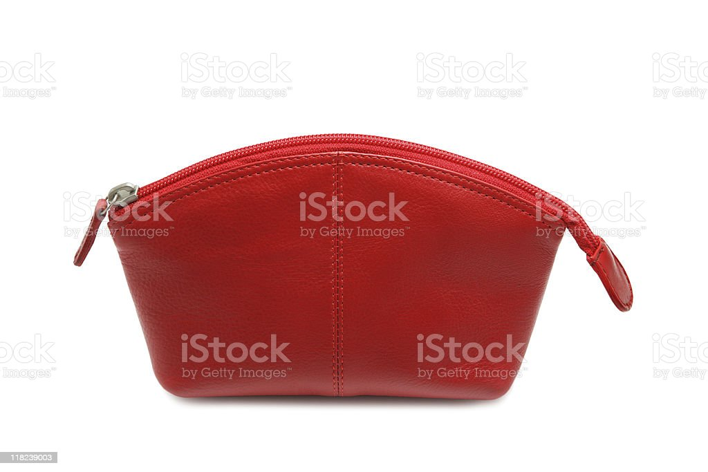 Makeup bag royalty-free stock photo