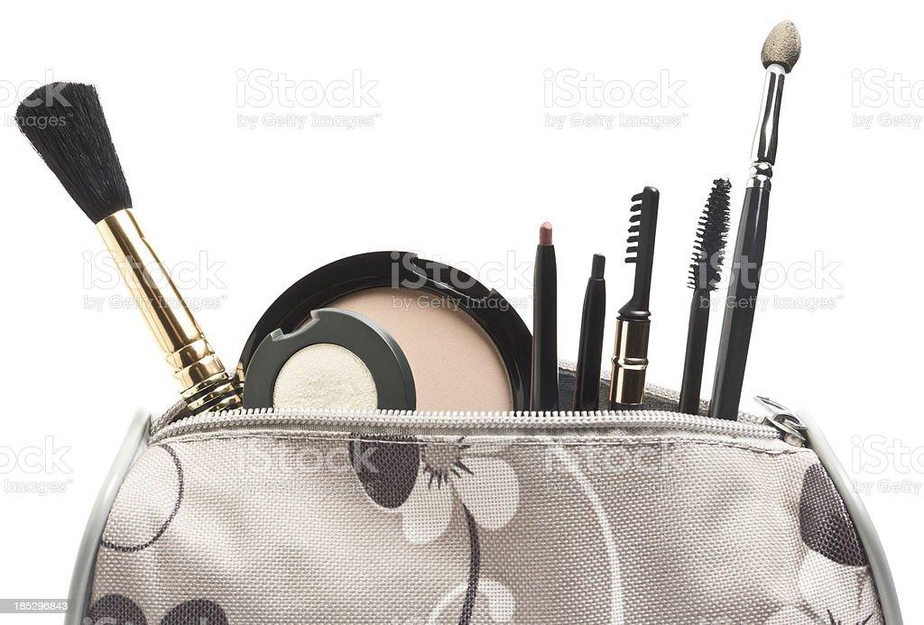 Makeup Bag stock photo