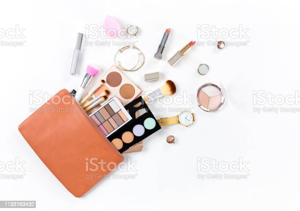 Makeup bag with cosmetic products picture id1133163432?b=1&k=6&m=1133163432&s=612x612&h=ij 7b0pxboplejl kzdiksyoare6 wn8lv3xh6z3eca=