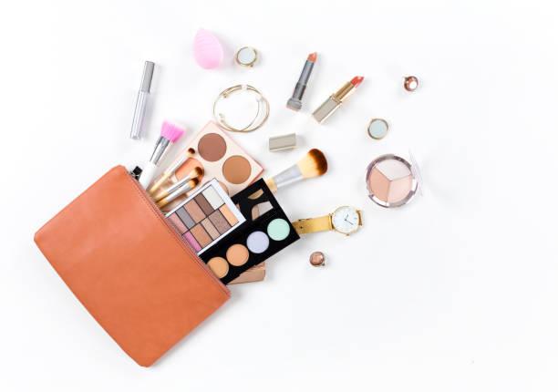 化妝品化妝袋 - 美容品 個照片及圖片檔