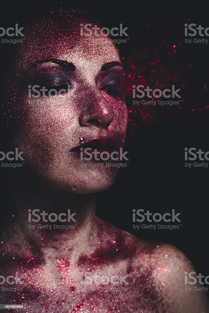 Make-up. Beauty Fashion stock photo