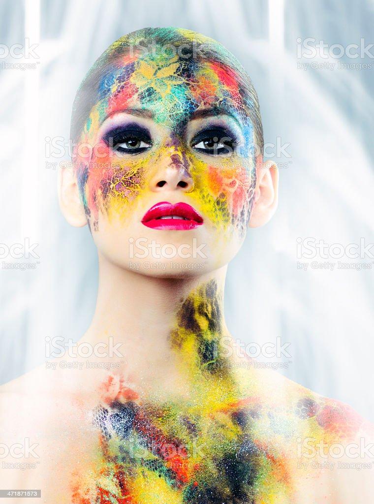 makeup beauty stock photo