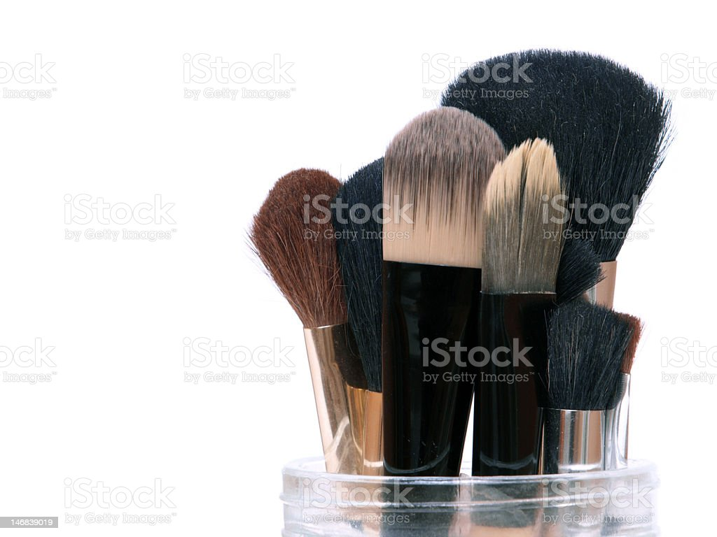 Make-up Brushes royalty-free stock photo