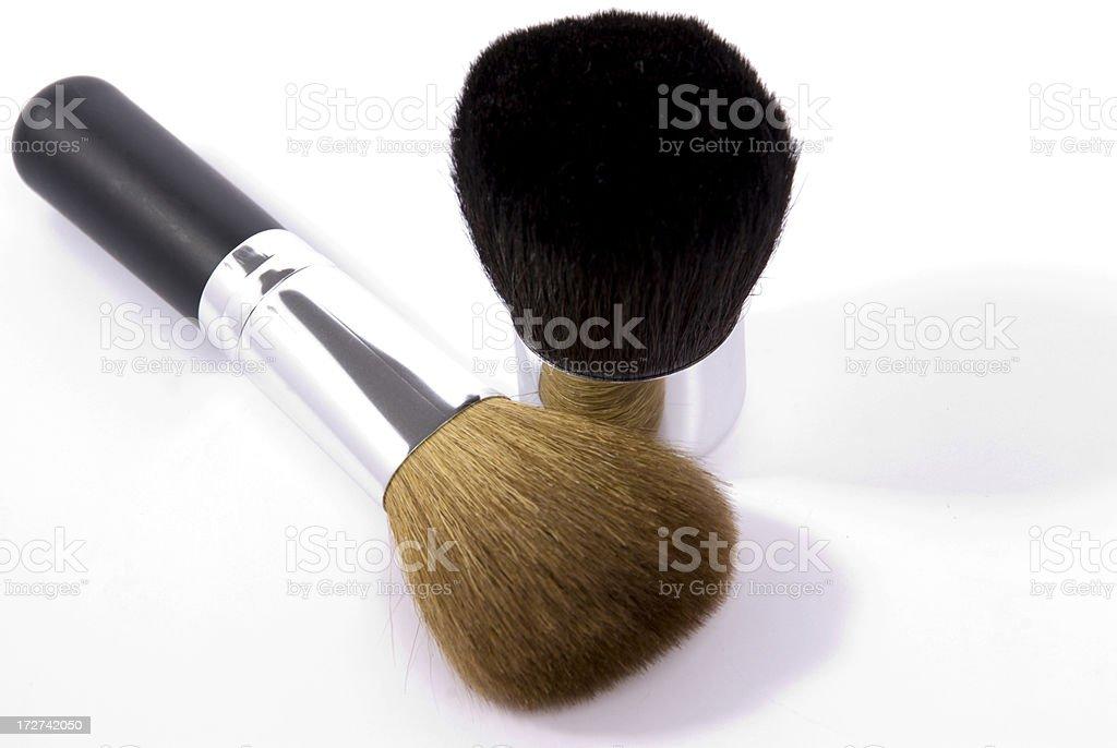 Makeup Brushes royalty-free stock photo