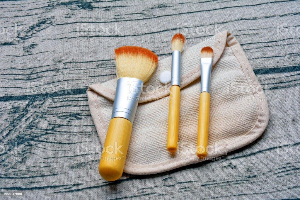 make-up brushes foto stock royalty-free